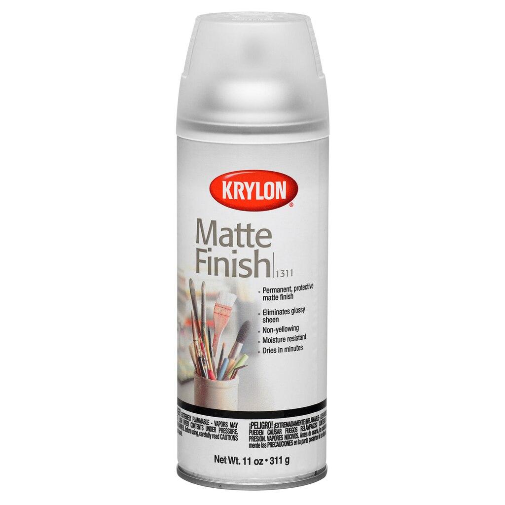 Krylon matte finish for Finishing spray for crafts