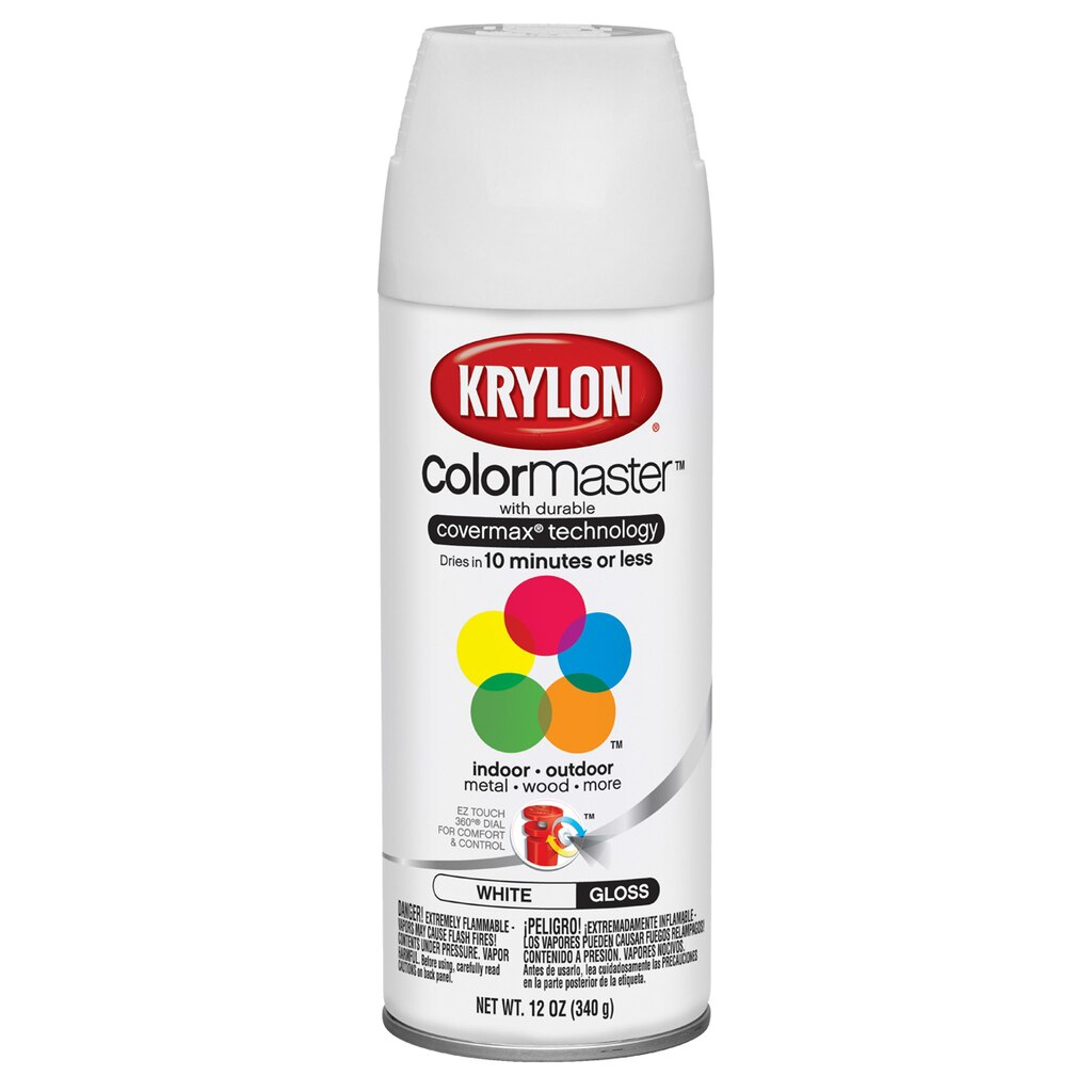 Krylon colormaster gloss enamel geenschuldenfo Images