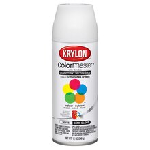 Krylon ColorMaster Semi-Gloss Enamel, White