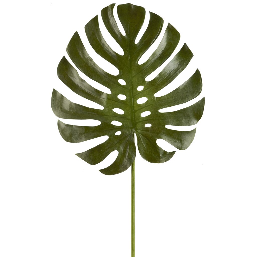 Home Decor Site Ashland 174 Tropical Monstera Leaf Stem