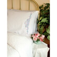 Dimensions Crewel Embroidery Kit, Wildflowers Pillow Cases