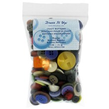 Dress It Up Craft Buttons, Regular