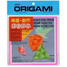 "Double-Sided Origami Paper Assortment, 5 7/8"", medium"