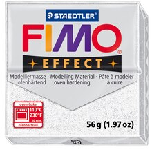 Staedtler FIMO Effect Modelling Clay, Glitter White