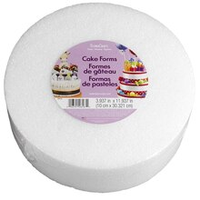 FloraCraft Styrofoam Cake Form 12 inch Top