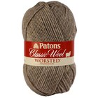 Patons Classic Wool Worsted, Natural