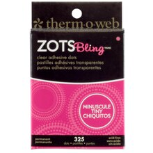 Therm O Web Zots Clear Adhesive Bling Dots