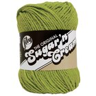 Lily Sugar 'n Cream Yarn, Hot Green