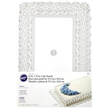 "Wilton Show-N-Serve Cake Boards 14"" x 20"" Packaged"