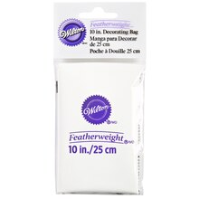 """Wilton Featherweight Decorating Bag, 10"""" Package"""