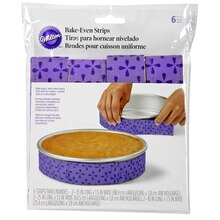 Wilton Bake-Even Strips, Package View