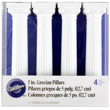 "Wilton Grecian Pillars 5"" Packaged"