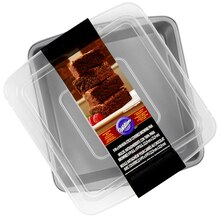 Wilton Recipe Right Covered Brownie Pan, Square