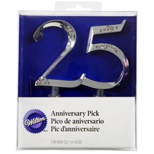Wilton Anniversary Pick, 25 Years