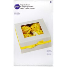 Wilton Cupcake Boxes, 4 Cavity