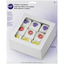 "Wilton Window Treat Boxes, 4"" x 8"", Packaged"