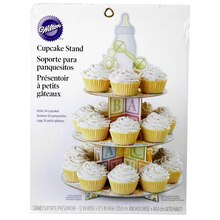Wilton Baby Feet Cupcake Stand Packaging