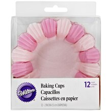 Wilton Baking Cups, Pink Blossoms Packaged