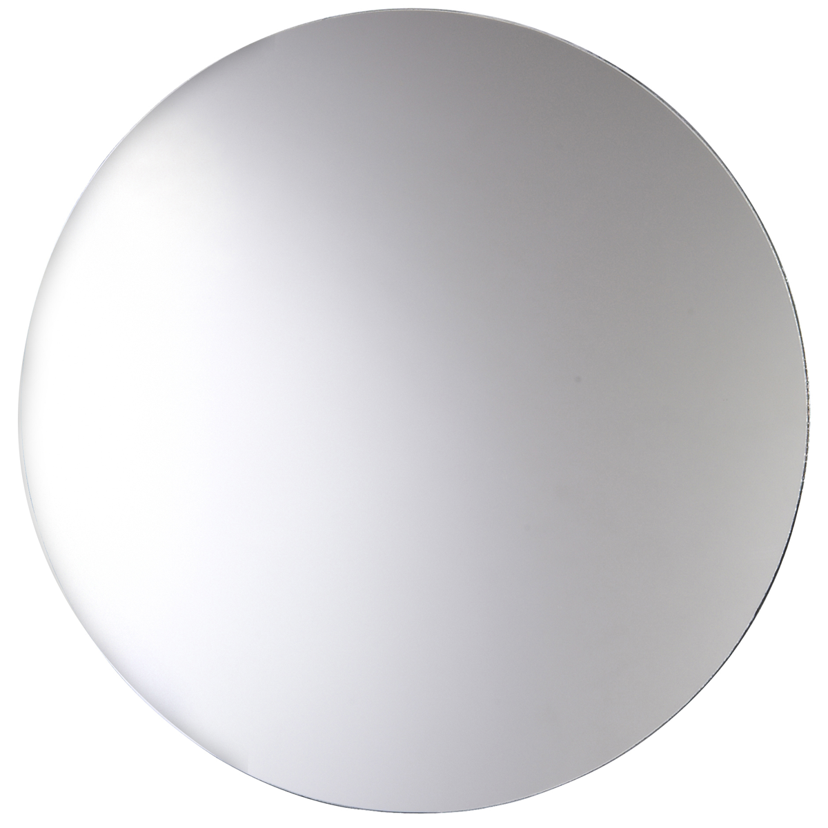 Large Round Silver Mirror Part - 35: Michaels