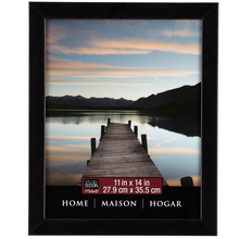Studio Décor Home Collection Flat Frame, Black