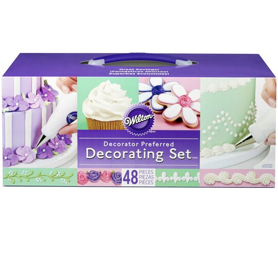 Michaels Cake Decorating Equipment : Wilton  Decorator Preferred Decorating Set?