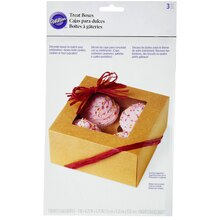 Wilton Cupcake Boxes, Kraft, package view