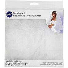 Wilton Double Layer Bridal Veil Packaging
