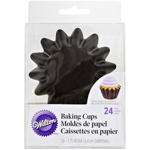 Wilton Baking Cups, Wave, Black