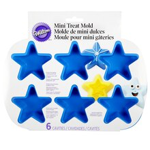 Wilton Mini Treat Mold, Star, Package