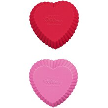 Wilton Silicone Baking Cups, Hearts, product view