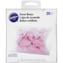 Wilton Favor Boxes, Love