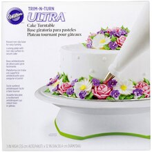 Wilton Trim-N-Turn Ultra Cake Turntable
