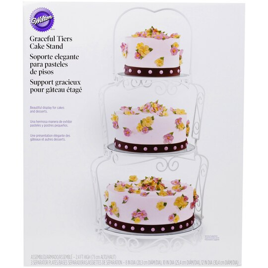 Wilton 174 Graceful Tiers Cake Stand