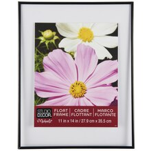 "Studio Décor Thin Float Frame, Black 11"" x 14"""