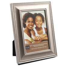 Studio Décor Simply Essentials Metal Frame With Beading Detail