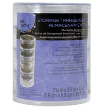 Bead Landing Clear Stackable Bead Storage, 2 3/4""
