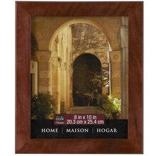"Studio Décor Home Collection Flat Frame, Espresso 8"" x 10"""