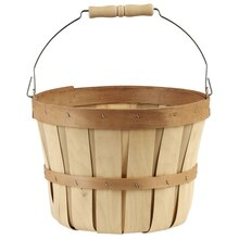 Ashland™ Chipwood Bushel Basket with Handle, medium