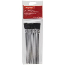 Craft Smart Acid and Glue Brush Pack, 6 Pc