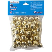 Creatology 15 mm Jingle Bells, Gold
