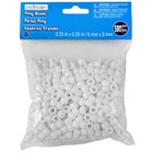 Creatology Pony Beads, Opaque White