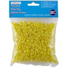 Creatology Pony Beads, Opaque Yellow