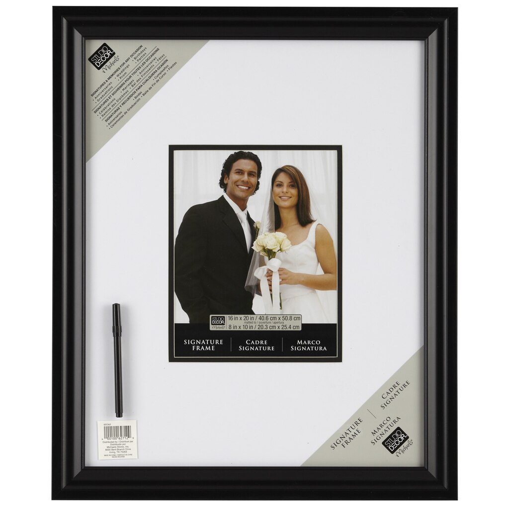 Studio D 233 Cor 174 Signature Frame With Marker