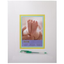 Celebrate It Occasions Baby Autograph Mat