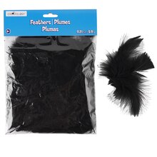 Creatology Feathers, Black
