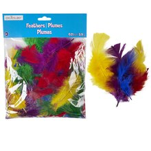 Creatology Feathers, Assorted Marabou