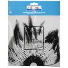 Creatology Feathers, Hackle Plate Black