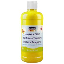 ArtMinds Tempera Paint, Yellow