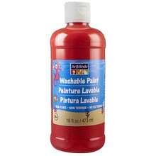 ArtMinds Washable Tempera Paint, Red