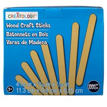 Creatology Wood Craft Sticks